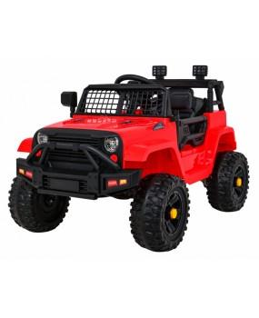Elektrické autíčko Jeep Dark Night červené